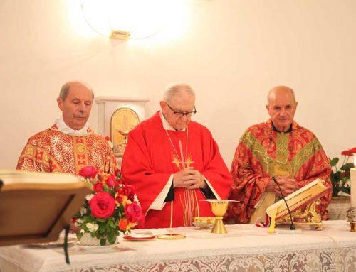 Messa per l'anniversario 65° di ordinazione di Mons. Molinari