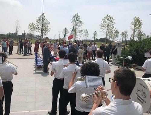 Erzelli: ricollocata la Stele  a memoria degli Operai – Partigiani di ANSALDO SAN GIORGIO