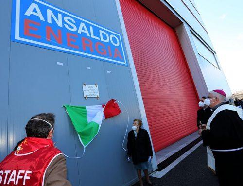La celebrazione del 25 aprile in Ansaldo  La fabbrica Ansaldo dedicata all'ingegnere antifascista Paolo Reti